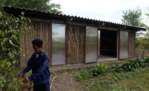 bambou ou bois une maison r sistante et bas couts au viet. Black Bedroom Furniture Sets. Home Design Ideas
