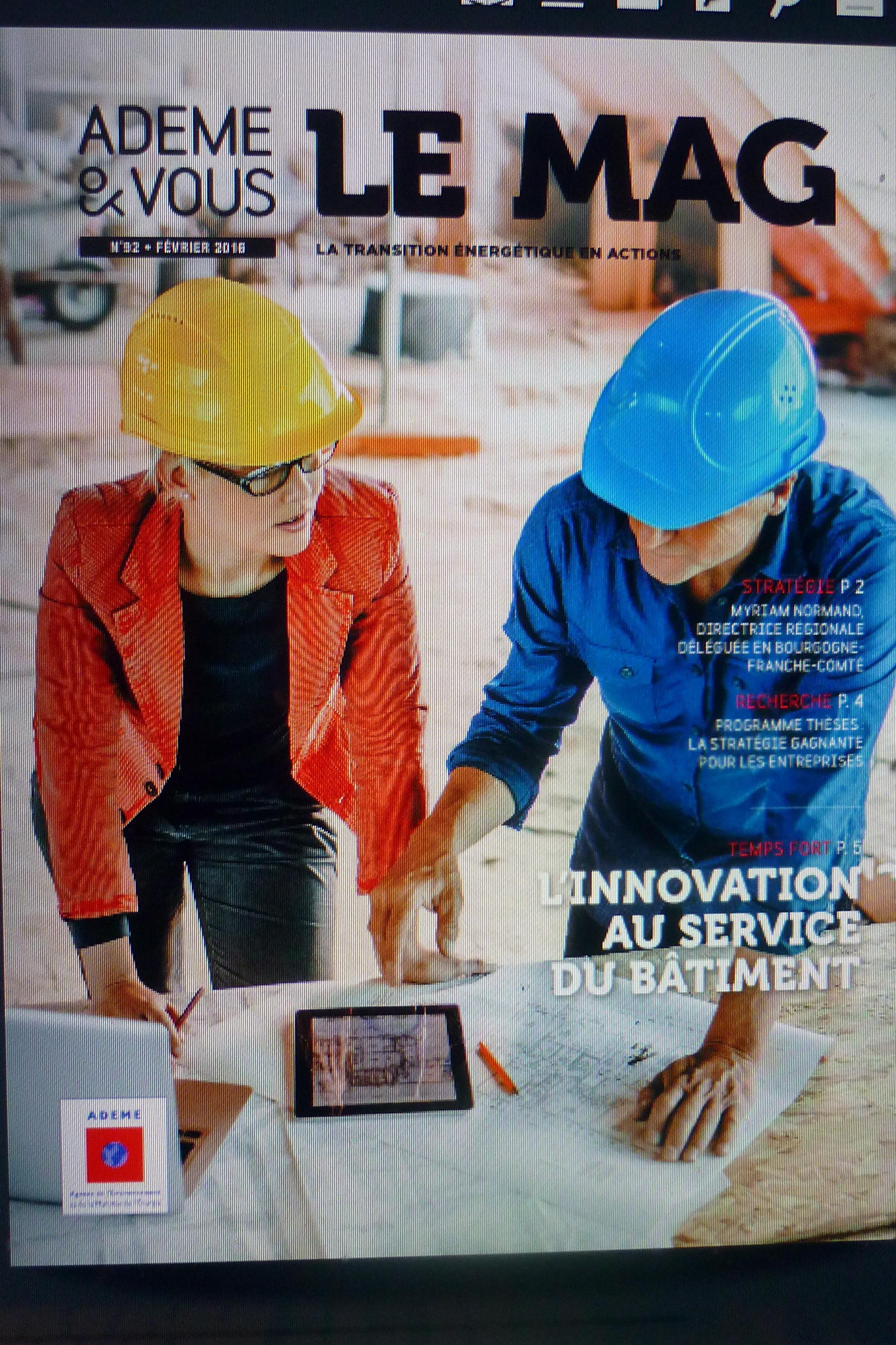 L'Ademe&Vous, le magazine de février 2016 complète les guides thématiques de l'Ademe