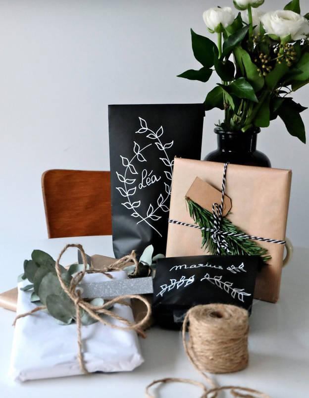 Afaire soi-même: Des paquets cadeaux d'inspiration végétale selon ELLE**