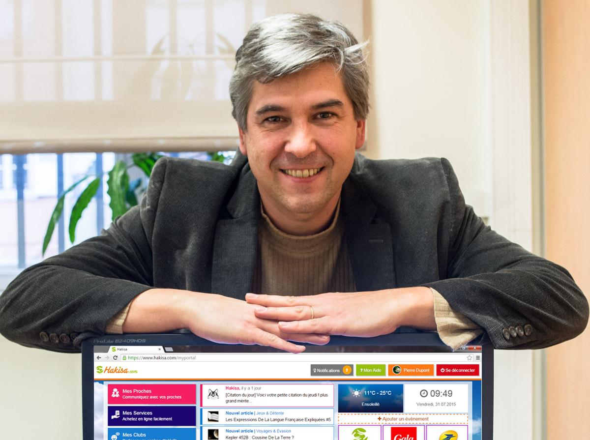 Eric GEHL, PDG de Hakisa, basé en Moselle à Meisenthal