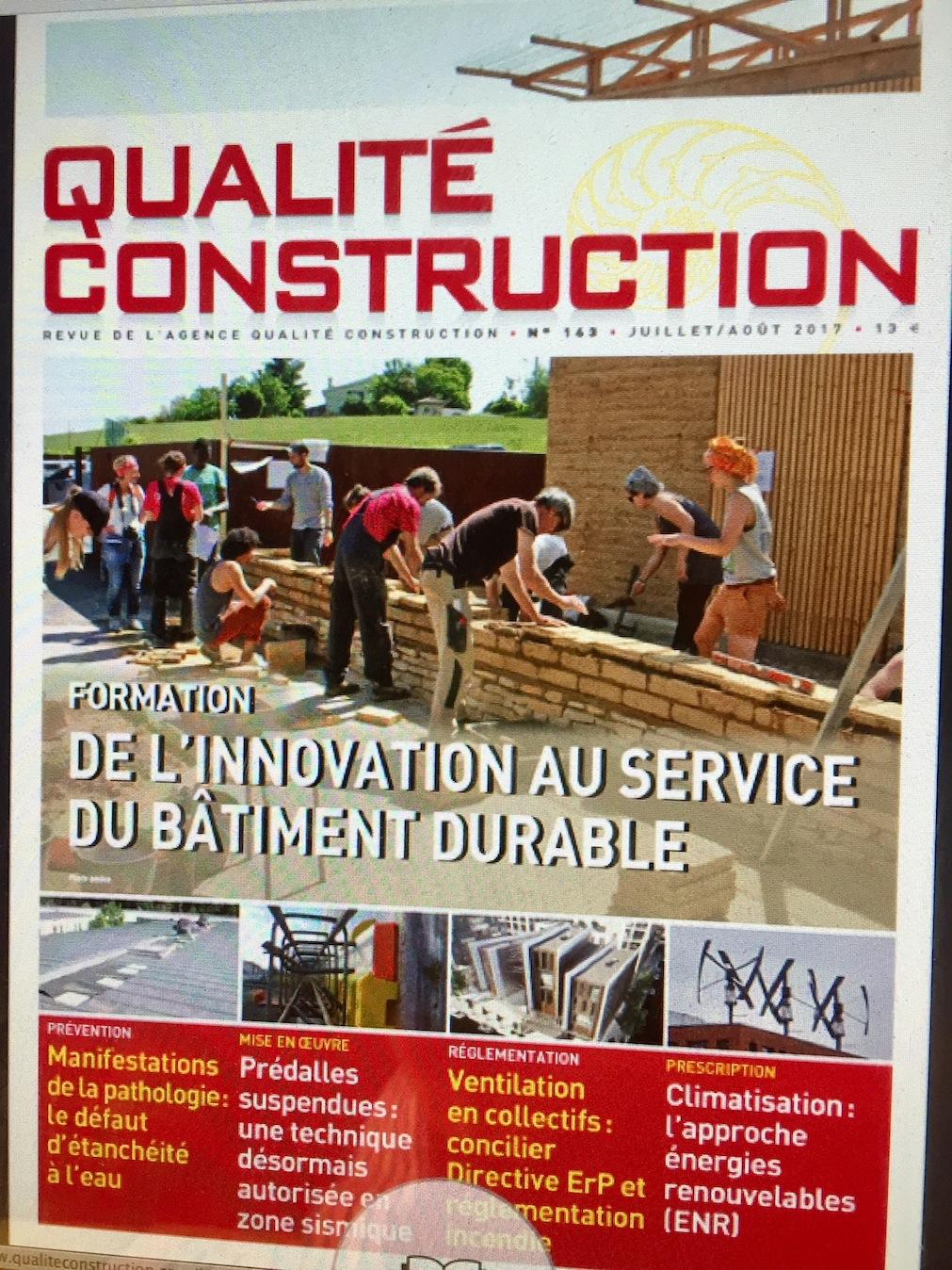 Edition ACQ de juillet- Aout 2017