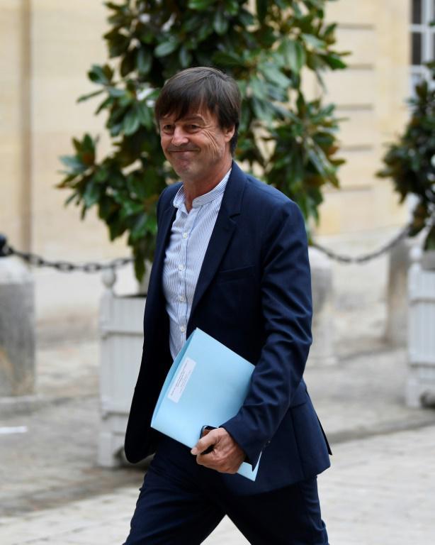 Nicolas HULOT, ministre de la transition écologique et de la solidarité, ministre d'Etat