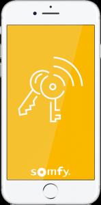Sécurité d'accès: Somfy présente l'appli qui va avec son kit complet de serrure connectée.