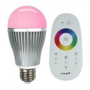kit ampoule LED et sa télécommande chez Starled