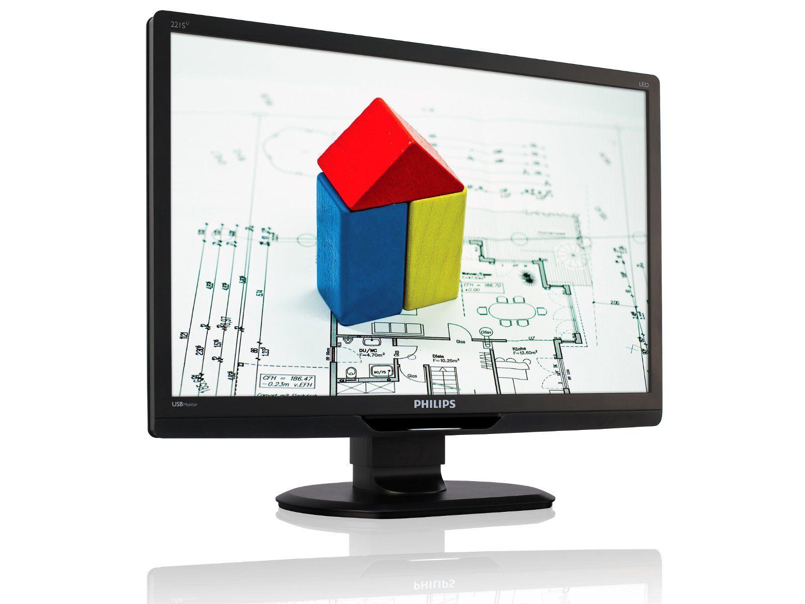Visuel offert par les téléviseurs LCD Philips !