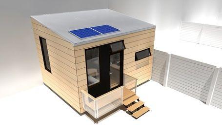 prefab tiny house 021 Stratégie low cost (1): La maison la moins chère du monde, 509€, made in India par Tata.